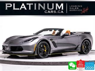 Used 2016 Chevrolet Corvette Z06 Convertible, 3LZ, Z07 PKG, 650HP, CARBON for sale in Toronto, ON