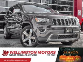 Used 2015 Jeep Grand Cherokee Limited for sale in Guelph, ON