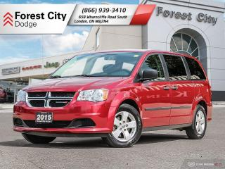 Used 2015 Dodge Grand Caravan SE/SXT Canada Value Package for sale in London, ON