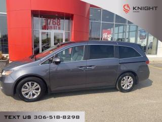 Used 2016 Honda Odyssey EX-L l NAV l Heated Leather l Local Trade for sale in Moose Jaw, SK