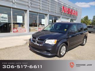 Used 2013 Dodge Grand Caravan SE for sale in Moose Jaw, SK