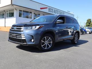 Used 2017 Toyota Highlander HYBRID XLE for sale in Vancouver, BC