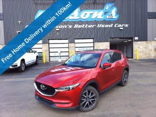 Used 2017 Mazda CX-5 GT AWD, Leather, Sunroof, Navigation, Power Liftgate, Blindspot Monitor, Apple CarPlay and more! for sale in Guelph, ON