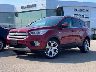 Used 2017 Ford Escape Titanium | Heated Steering Wheel | Navigation | for sale in Winnipeg, MB