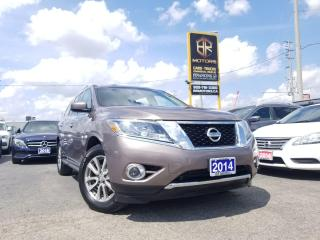Used 2014 Nissan Pathfinder No Accidents |4WD| SL | 7 Seater | Nav |Certified for sale in Brampton, ON
