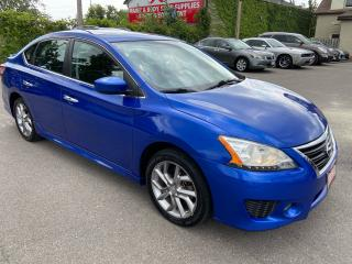 Used 2015 Nissan Sentra SR ** NAV, HTD SEATS , BACK CAM ** for sale in St Catharines, ON