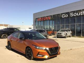 New 2021 Nissan Sentra SR for sale in Edmonton, AB