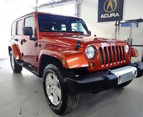 Used 2009 Jeep Wrangler Sahara ,LIMITED,WELLMAINTAIN,4 DOOR,HARD TOP for sale in North York, ON