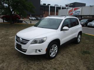 Used 2010 Volkswagen Tiguan 4Motion ~ AWD ~ NAVIGATION ~ REAR CAM ~ PANO ROOF for sale in Toronto, ON