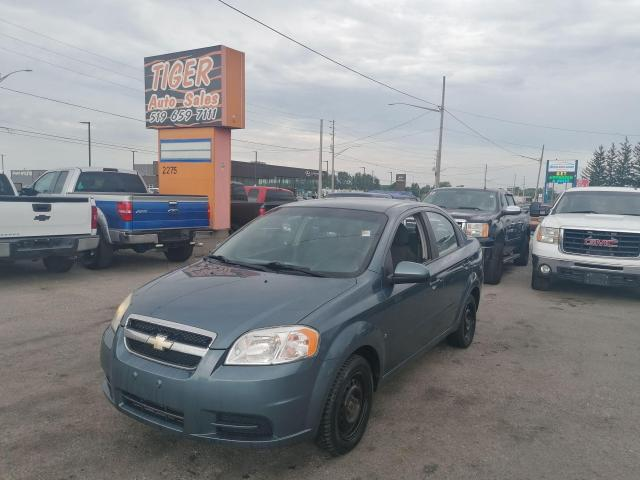 2009 Chevrolet Aveo LS*AUTO*POWER WINDOWS*ONLY 129KMS*AS IS