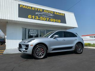 Used 2018 Porsche Macan GTS What a Beauty! 360HP Twin Turbo V6! AWD! Leather! NAV! for sale in Kingston, ON