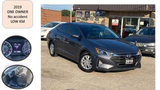 Used 2019 Hyundai Elantra AUTO ONE OWNER NO ACCIDENT FACTORY WARANTY for sale in Oakville, ON