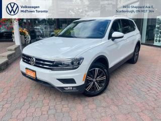 Used 2020 Volkswagen Tiguan Highline for sale in Scarborough, ON