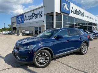 Used 2018 Lincoln MKX Reserve   HEATED LEATHER SEATS   SUNROOF   APPLE CARPLAY & ANDROID AUTO   NAVIGATION   BACKUP CAMERA   for sale in Innisfil, ON