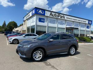Used 2018 Acura RDX Tech NAV | SUNROOF | LEATHER SEATS | MEMORY SEAT | for sale in Brampton, ON