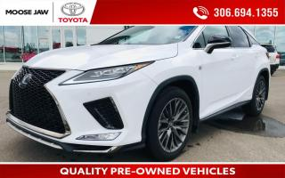 Used 2021 Lexus RX 450h HYBRID, F SPORT PACKAGE, NAVIGATION, for sale in Moose Jaw, SK