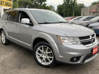 Used 2016 Dodge Journey R/T/AWD/7PASSENGERS/LEATHER/LOADED/ALLOYS for sale in Scarborough, ON
