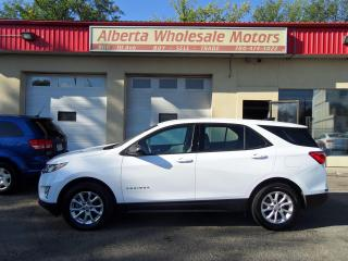 Used 2018 Chevrolet Equinox LS AWD for sale in Edmonton, AB