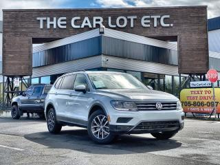 Used 2018 Volkswagen Tiguan Comfortline 7 SEATER!! AWD!! PANORAMIC ROOF!! HEATED SEATS!! NAVIGATION!! BACK-UP CAM!! for sale in Sudbury, ON