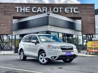 Used 2016 Subaru Forester 2.5i Convenience Package AWD!! BACK-UP CAMERA!! HEATED SEATS!! for sale in Sudbury, ON