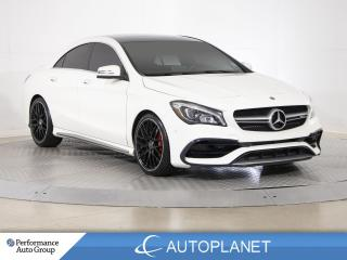 Used 2018 Mercedes-Benz CLA-Class CLA45 AMG 4MATIC, Premium Pkg, Navi, New Tires/Brakes! for sale in Brampton, ON