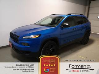 Used 2018 Jeep Cherokee Altitude|Warranty|Low Payment|Loaded|N.Tires for sale in Brandon, MB