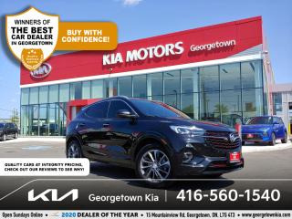 Used 2020 Buick Encore GX ESSENCE | 1 OWNR | CLN CRFX | SUNROOF | NAV | 19K for sale in Georgetown, ON