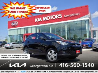 Used 2014 Hyundai Tucson GL | 1 OWNR | CLN CRFX | HTD SEATS | 6 SPD M/T | for sale in Georgetown, ON
