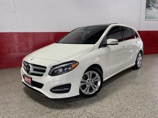Used 2017 Mercedes-Benz B-Class B250 SPORTS TOURER 4MATIC BLINDSPOT ASSIST XENON'S PANO ROOF for sale in North York, ON