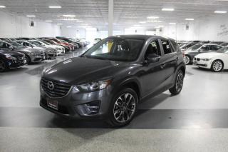Used 2016 Mazda CX-5 GT I NAVIGATION I LEATHER I SUNROOF I REAR CAM I BLIND SPOT for sale in Mississauga, ON