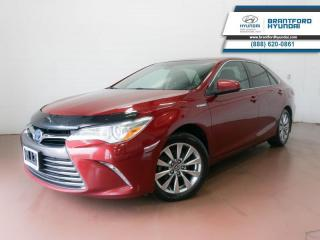 Used 2016 Toyota Camry HYBRID HYBRID | 1 OWNER | SUNROOF | HTD SEATS for sale in Brantford, ON