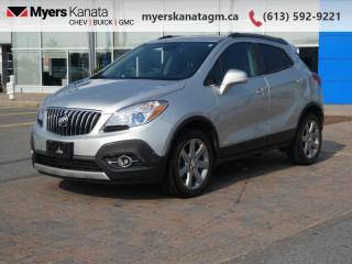 Used 2016 Buick Encore Leather  - Leather Seat -  Heated Seat for sale in Kanata, ON