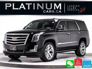 Used 2017 Cadillac Escalade Premium Luxury, NAV, CAM, PANO, HEATED, COOLED for sale in Toronto, ON