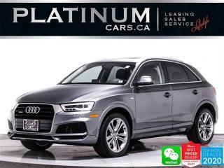 Used 2018 Audi Q3 2.0T quattro Technik, AWD, NAV, CAM, HEATED for sale in Toronto, ON