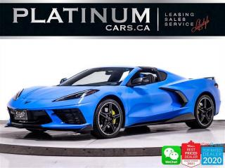 Used 2020 Chevrolet Corvette Stingray Coupe , Z51, 495HP,  BLACK PKG, PDR for sale in Toronto, ON