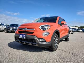 Used 2016 Fiat 500 X Trekking Plus for sale in Sarnia, ON