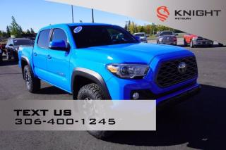 Used 2020 Toyota Tacoma TRD 4X4 | Heated Seats | Back Up Camera | Navigation | Tow Package for sale in Weyburn, SK