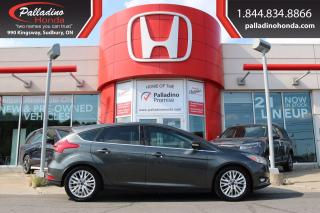 Used 2017 Ford Focus Titanium - NEW FRONT AND REAR BRAKES - for sale in Sudbury, ON