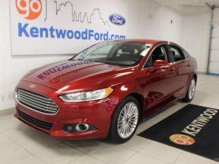 Used 2016 Ford Fusion SE   FWD   Remote Starter   Heated Seats   LUXURY pkg   Rear Camera for sale in Edmonton, AB