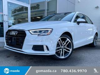 Used 2018 Audi A3 Sedan Technik for sale in Edmonton, AB
