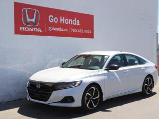 New 2021 Honda Accord Sedan SE for sale in Edmonton, AB