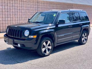 Used 2016 Jeep Patriot HIGH ALTITUDE | 4X4 | LEATHER | NO ACCIDENTS for sale in Barrie, ON