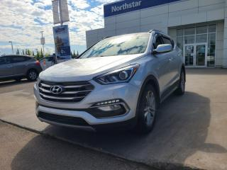 Used 2017 Hyundai Santa Fe Sport LEATHER/SUNROOF/BACKUPCAM/HEATEDSEATS/BLINDSPOT for sale in Edmonton, AB