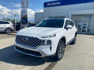 New 2022 Hyundai Santa Fe HYBRID Luxury for sale in Edmonton, AB