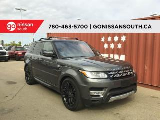Used 2017 Land Rover Range Rover Sport HSE, V6, SUPERCHARGED, AWD for sale in Edmonton, AB