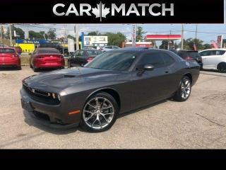 Used 2020 Dodge Challenger SXT PLUS / LEATHER / SUNROOF / 19,504 KM for sale in Cambridge, ON
