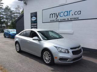 Used 2015 Chevrolet Cruze ALLOYS. BACKUP CAM. CRUISE CONTROL. A/C. for sale in Richmond, ON