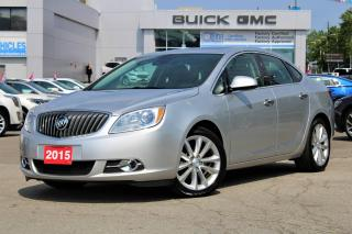 Used 2015 Buick Verano **Navigation/Sunroof/Heated Leather** for sale in Toronto, ON