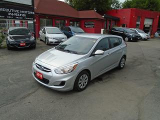 Used 2016 Hyundai Accent GL/ NO ACCIDENT / A/C / HEATED SEATS / LOW KM / for sale in Scarborough, ON