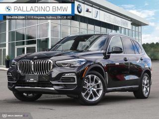 New 2021 BMW X5 xDrive40i Trailer Tow Hitch, Black Sapphire Metallic, Remote Engine Start for sale in Sudbury, ON